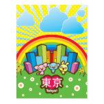 Love Tokyo Postcard Post Cards