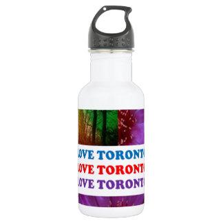 LOVE Toronto - Text n Oldest LIGHT TOWER Island Water Bottle