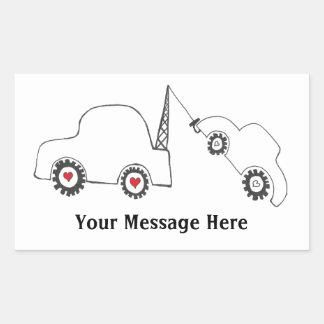 Love Tow Custom Message Sticker
