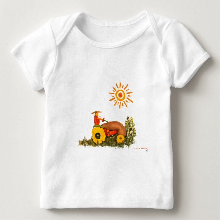LOVE Tractor Baby T-Shirt