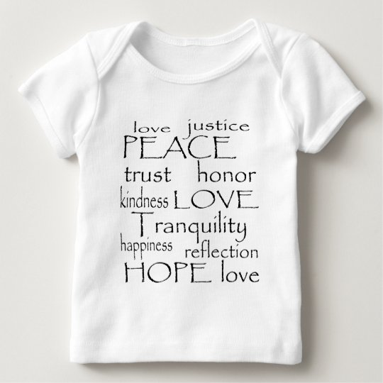 Love Tranquility Baby T-Shirt