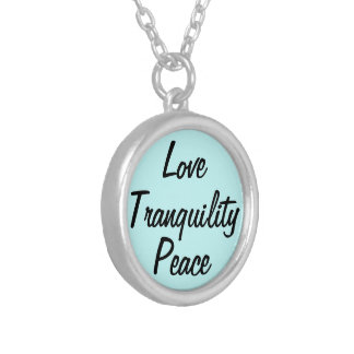 Love Tranquility Peace Necklace