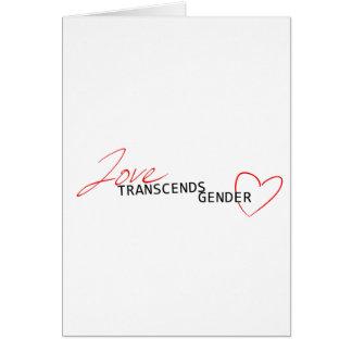 Love Transcends Gender Cards
