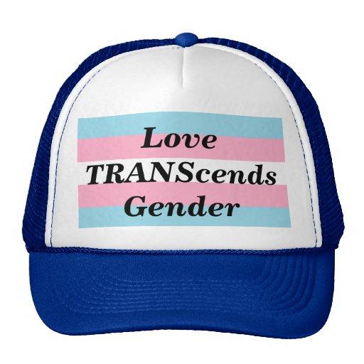 Love TRANScends Pride Blue Hat