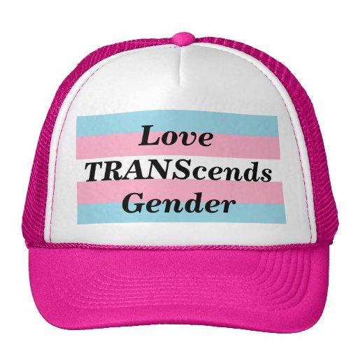 Love TRANScends Pride Hot Pink Hat