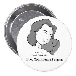 Love Transcends Species Button