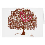 Love Tree Greeting Cards