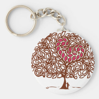 Love Tree Key Chains