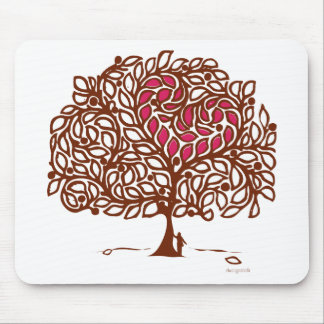 Love Tree Mouse Pad