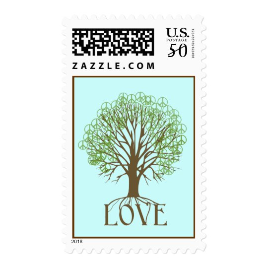 Love Tree Postage