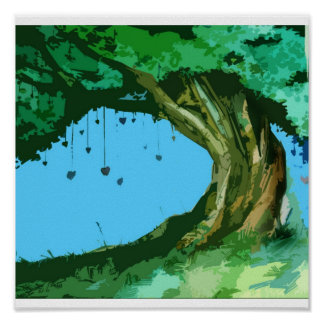 Love Tree Print