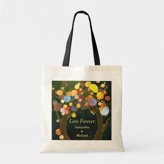 Love Trees: Forever Love Tote Bag