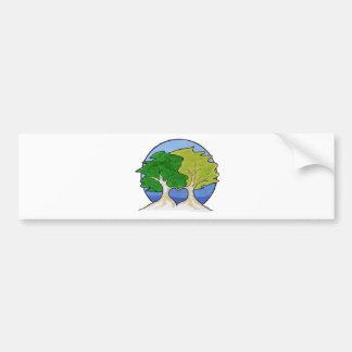 Love trees.jpg bumper sticker