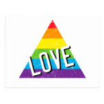 Love Triangle Post Card