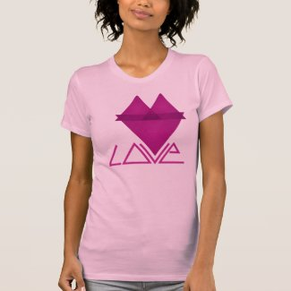 Love Triangle Tee Shirt