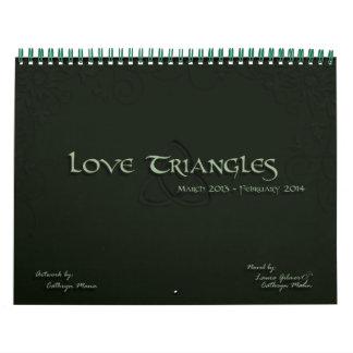 Love Triangles 2013 Calendar