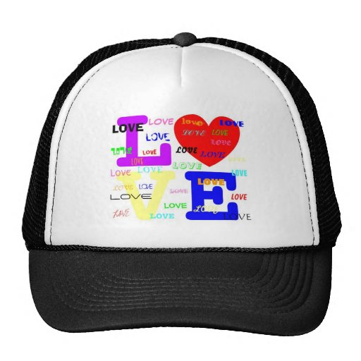 'LOVE' Trucker Hat