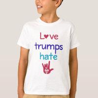 Love Trumps Hate Anti Trump T-Shirt