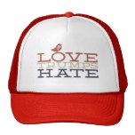 Love Trumps Hate Cap Trucker Hat
