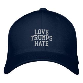 Love Trumps Hate - Custom Baseball Cap