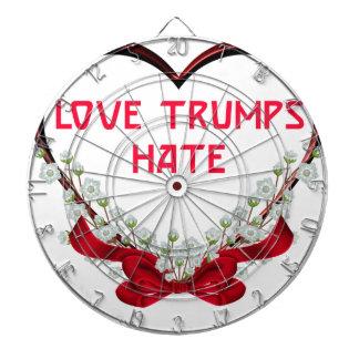 love trumps hate dartboards