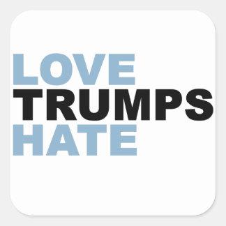 Love Trumps Hate Hillary 2016 sticker