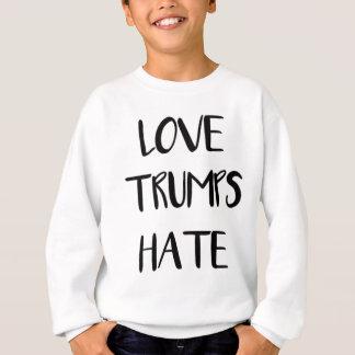 Love Trumps Hate Inspiring Nation Sweatshirt