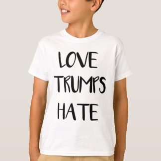 Love Trumps Hate Inspiring Nation T-Shirt