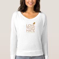 Love Trumps Hate T-shirts