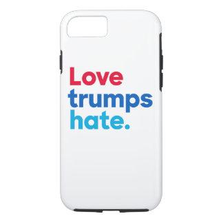 Love trumps hate. tough iPhone 7 case