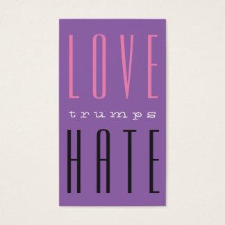 LOVE trumps HATE VI Business Card