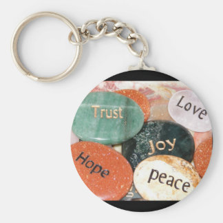 Love Trust Joy Peace Hope Key Chain
