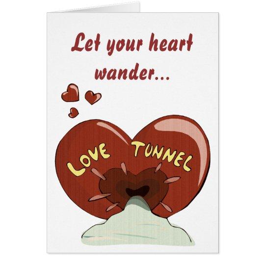Love Tunnel Card