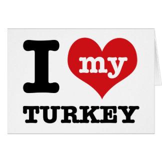 love Turkey Card