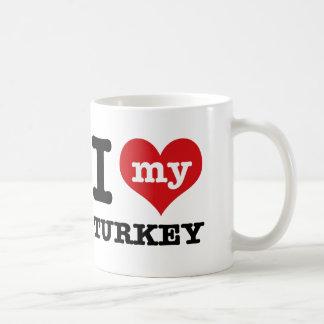 love Turkey Coffee Mug