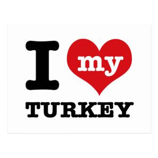 love Turkey Postcard