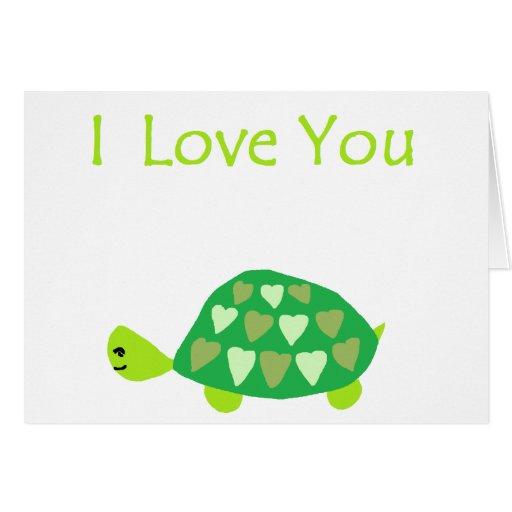 Love Turtle Card