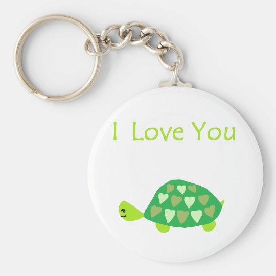 Love Turtle Keychain