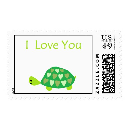 Love Turtle Stamps