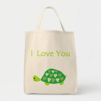 Love Turtle Tote Bag