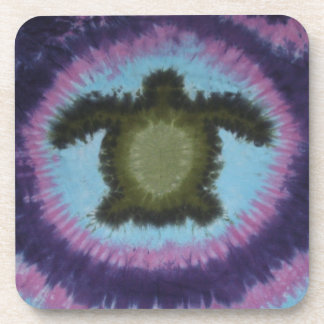 Love Turtles Tie Dye Coasters