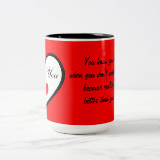 Love Two-Tone Coffee Mug