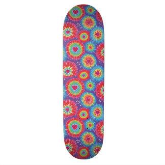 Love Tye Dye Skateboard Deck