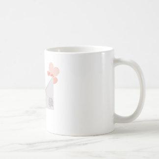Love type character coffee mug