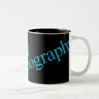 Love Typography Mug