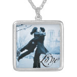 Love Typography Your Photo Template Custom Necklace
