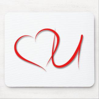 Love U Mouse Pad