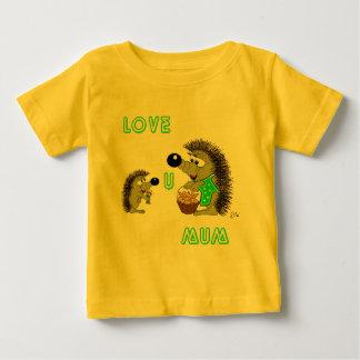 Love U Mum Baby T-Shirt