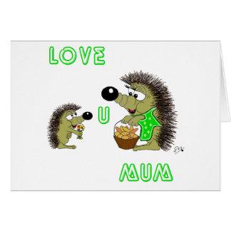Love U Mum Card