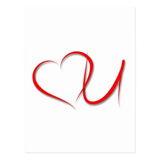 Love U Postcards